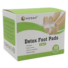 Hot Sale Bamboo Vinegar Detox Foot Patch Kinoki Foot Patches Care Of Your Health