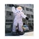 Most popular 7.5meters high inflatable astronaut balloon/ inflatable cosmonaut model /inflatable space man for advertising