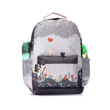 Cartoon multifunction funny cat custom sublimation printed backpack students shopping school travel backpack