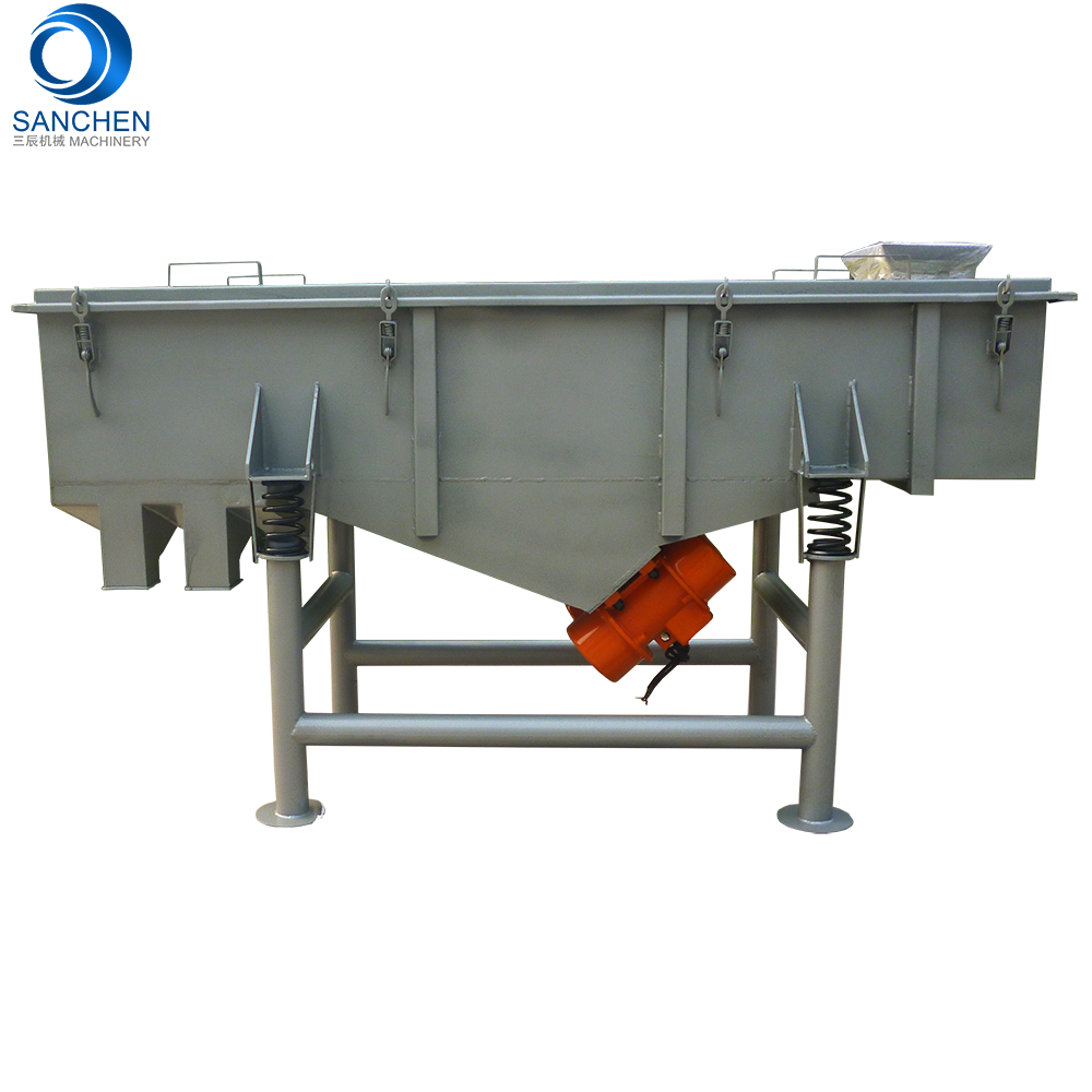 Sanchen new style sieve particle Linear efficient powder filter plant sand screening machine