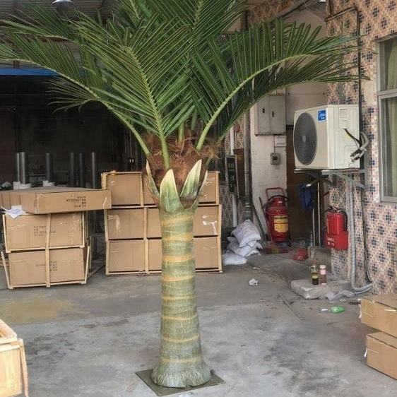 3m Outdoor decorative artificial steel fake coconut palm tree