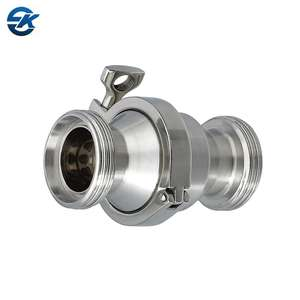 Stainless Steel SS304 SS316L Sanitary Threaded Check Valve
