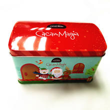 High quality christmas tin music gift box for candy,chocolate packaging