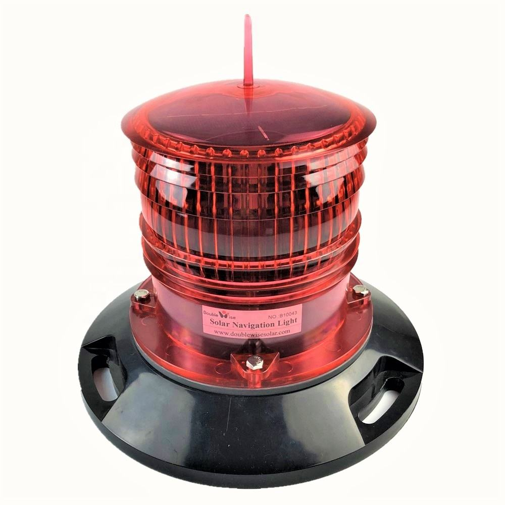 IALA Led Navaid Buoy Lighting Beacon Solar Powered Marine Lantern