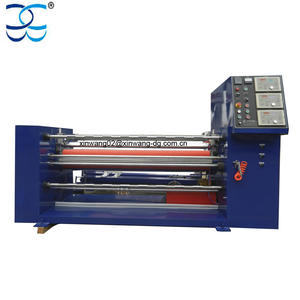 Automatic Heating Knife Roll Fabric Ribbon Slitting Machine