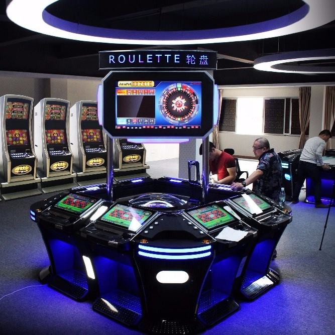 Newest Casino Game Machine Automated Electric Jackpot Smart Electronic Roulette Machine For Sale