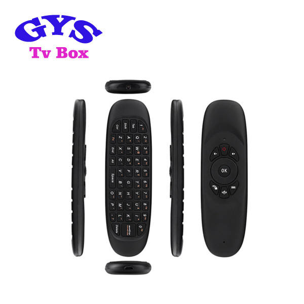 2016 Airmouse 2.4 GHz Mini Fly Air Mouse T10 Isi Ulang C120 <span class=keywords><strong>Udara</strong></span> Mouse Keyboard untuk PC Android TV Box <span class=keywords><strong>QWERTY</strong></span>