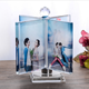 Digital Crystal LOVE Photo Frame with custom photo for birthday memorial gifts wedding souvenir
