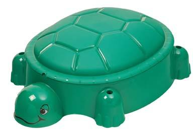 Turtle Pool sandpit with cover