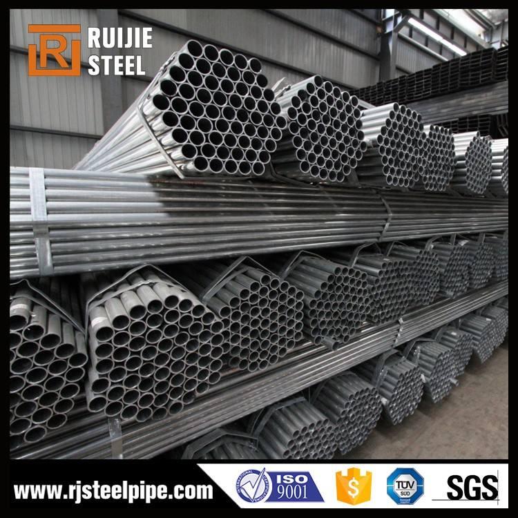 Sacffolding materiale tubo di acciaio, tubo di acciaio mulino, tipi di tubi in acciaio al carbonio