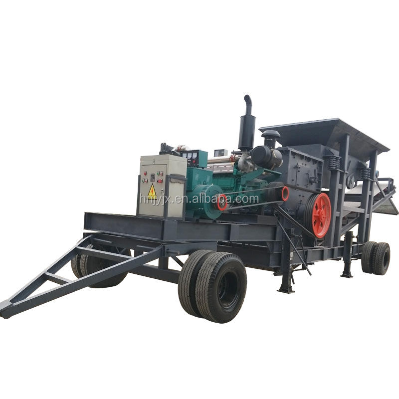 small mobile jaw crusher equipment for sale on gravel stone crushing