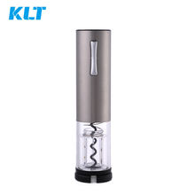 Automatic Corkscrew Rechargeable Electronic Wine Bottle Opener opens up tp 40 bottles per single full charge