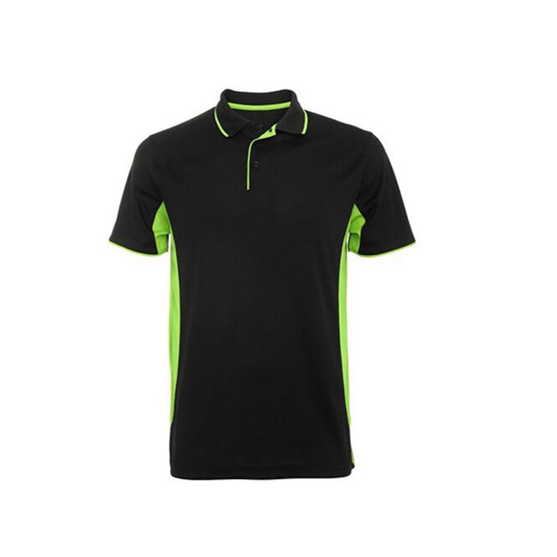 Golf Dry Fit Printing Wholesale Two Color Customize Fitted Polo T Shirt