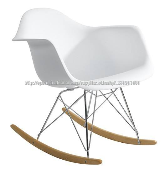 venta caliente silla eames mecedora