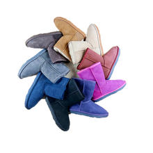 Wholesale Colors Australian Shoes Women Winter Warm Snow Sheepskin Leather Boots