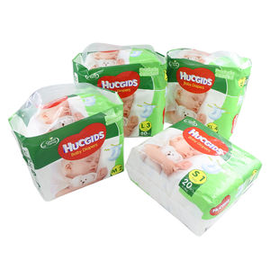 Highly absorbent Disposable Wholesale Baby Diaper