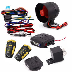 High quality one way car alarm/easy install car alarm