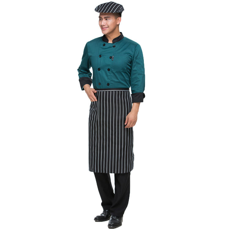 Breathable Hotel Bar Uniform for Cooker Cooking Chef Clothes