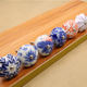 Fashion Hand-Painted Chinese Style Blue and White Porcelain Ceramic Drawer Cabinet Door Handle and Knobs CZ-0581