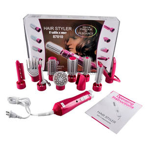 Hot Selling Professional Hot Air Brush Home Family Use 10 in 1 Freeze Blow Salon Hair Dryer Brush