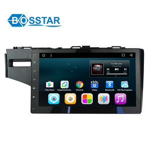 "Octa core 10.2"" Android 7.1 Multi-Point Touch Car stereo Screen Player GPS NAVI Google Play Car Media For FIT 2014"