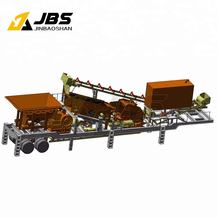 Mobile Mounted Movable Jaw Crusher Plant with CE certificate