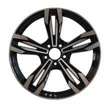 2019 best selling offset 19 20 22 inch 5 car black car tire rims