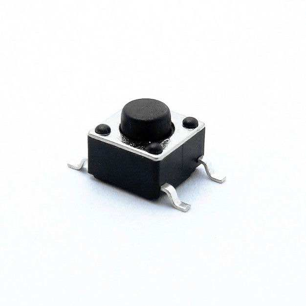 6*6*6 (H) 4 pernas tact switch smt smd tátil push button switches