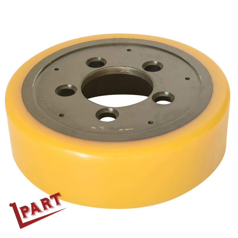 HELI CHL Liftstar Pallet Truck Drive Wheel 248x75MM with 5 Bolts