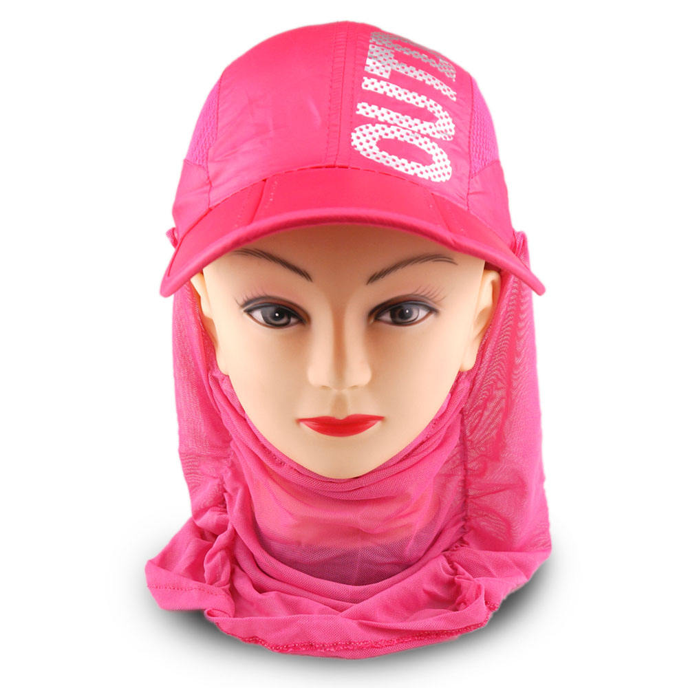 Foldable Sweater Hood Anti-UV Sun Corset Faceball Cap