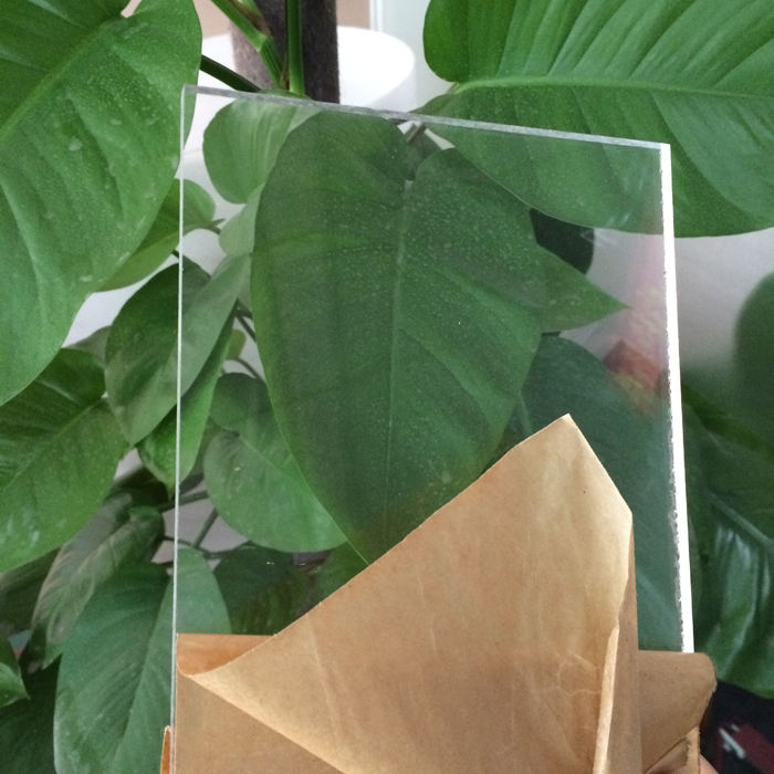 laser cut thin plexiglass clear acrylic sheet