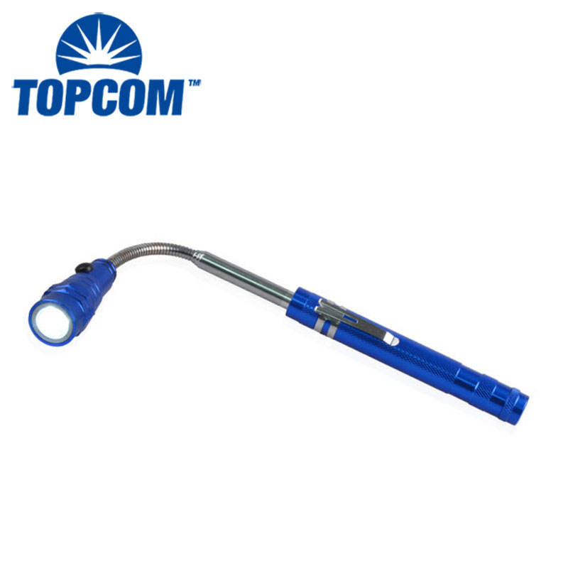 Flexible Extendable Magnetic Flashlight Telescopic torch with magnet