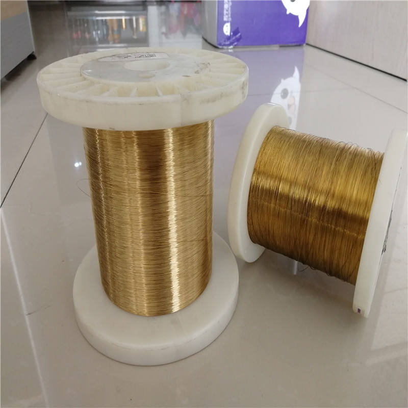 palladium, gold plated phosphor bronze wire 0.45mm factory on sale
