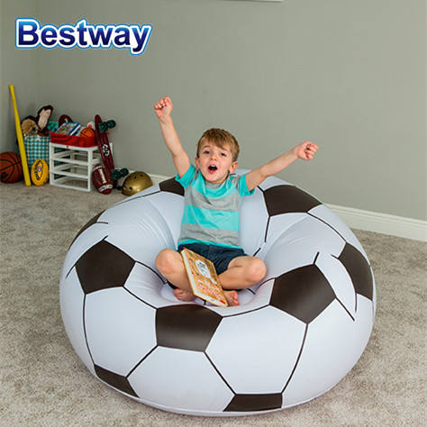 Bestway 75010 Inflatable PVCฟุตบอลเก้าอี้