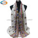 Cosum brand Newest sale excellent heavy chiffon lady quality german scarf