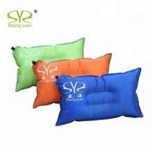 Portable Camping self Inflating cushion pillow