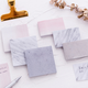 rectangle stone sticky notes memo pads