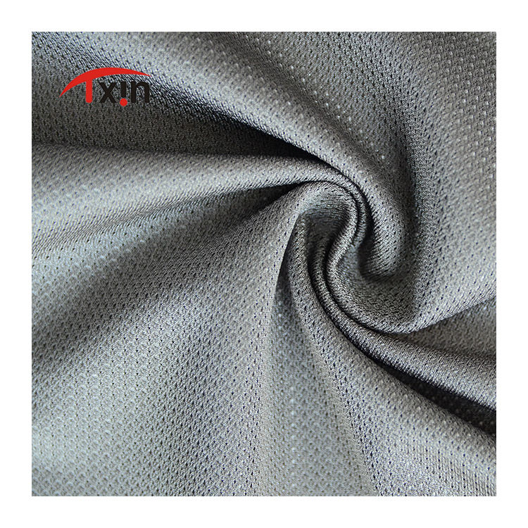 100% Polyester Light Weight Tricot Plain Lining Fabric With Triangular Bright Yarn