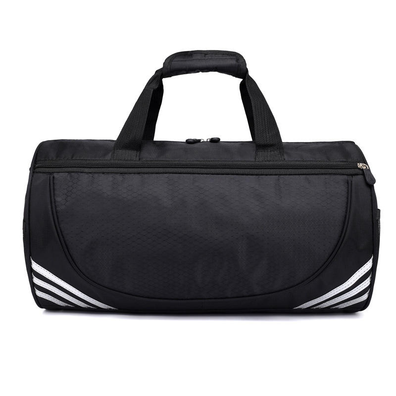 Wholesale Top Quality Traveling Bag Custom Grid ripstopTravel Bag Sports gym bag with shoe compartment