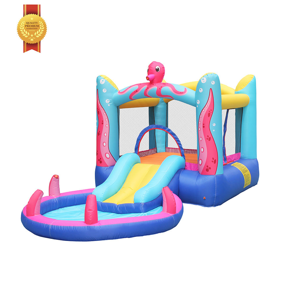 S118A Hot Sale CustomDesign 100%FullTest Oxford Fabric Inflatable Water Slide Into Pool Supplier in China