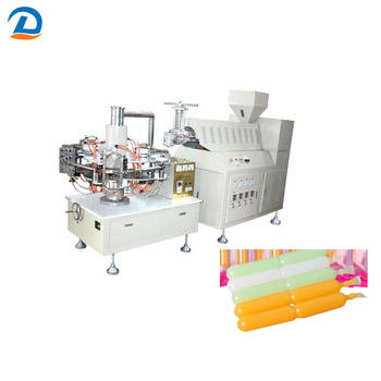 PLC control LDPE plastic ice pop tube blow moulding machine XSJ-2
