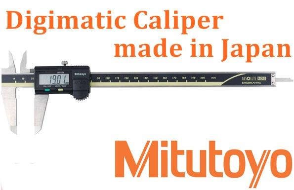 Mitutoyo Vernier Digitale Sattel made in Japan