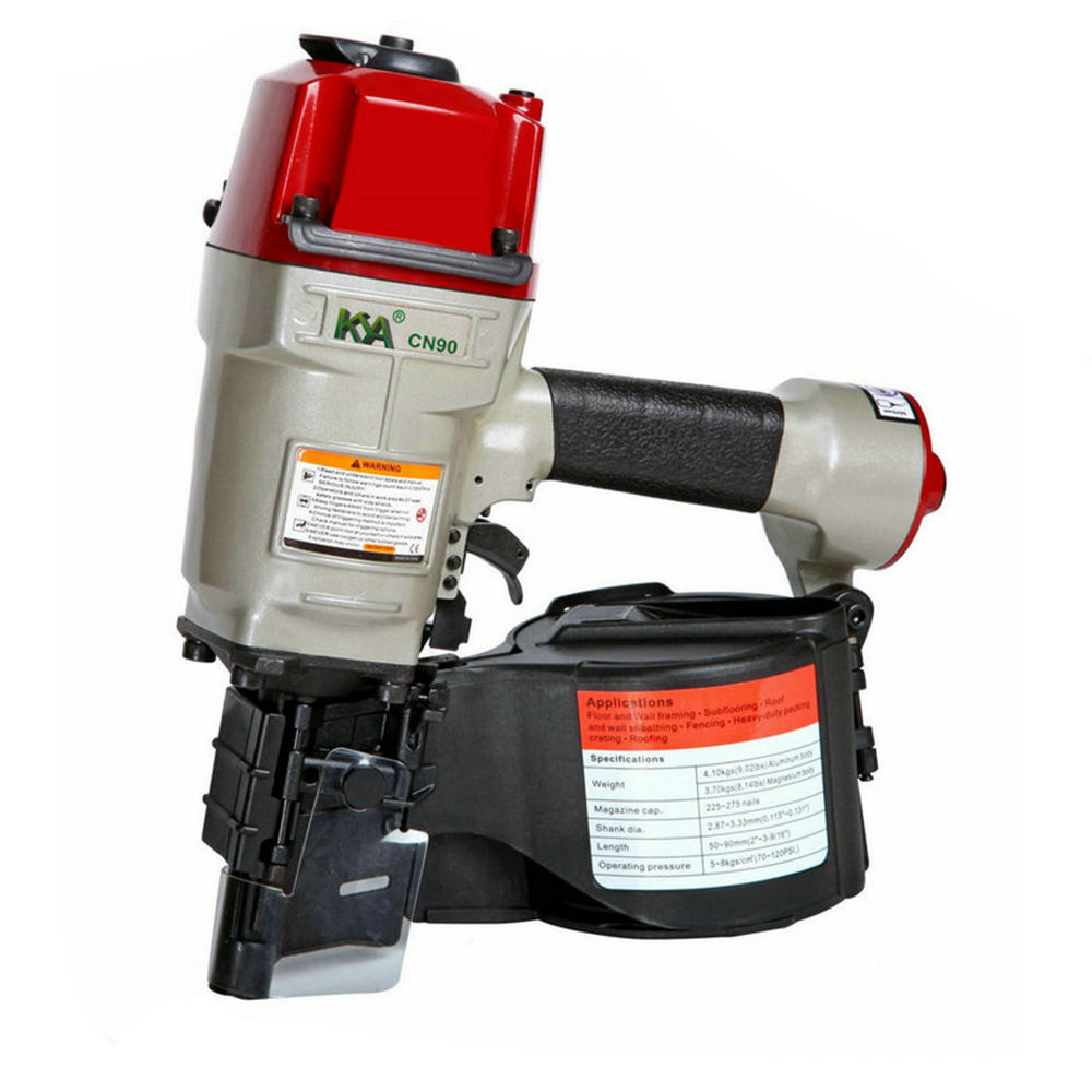 CN90 Pneumatic Coil Nailer for wooden package