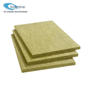 1.2m*0.6m size and 50mm Thickness Fireproof Rockwool Insulation
