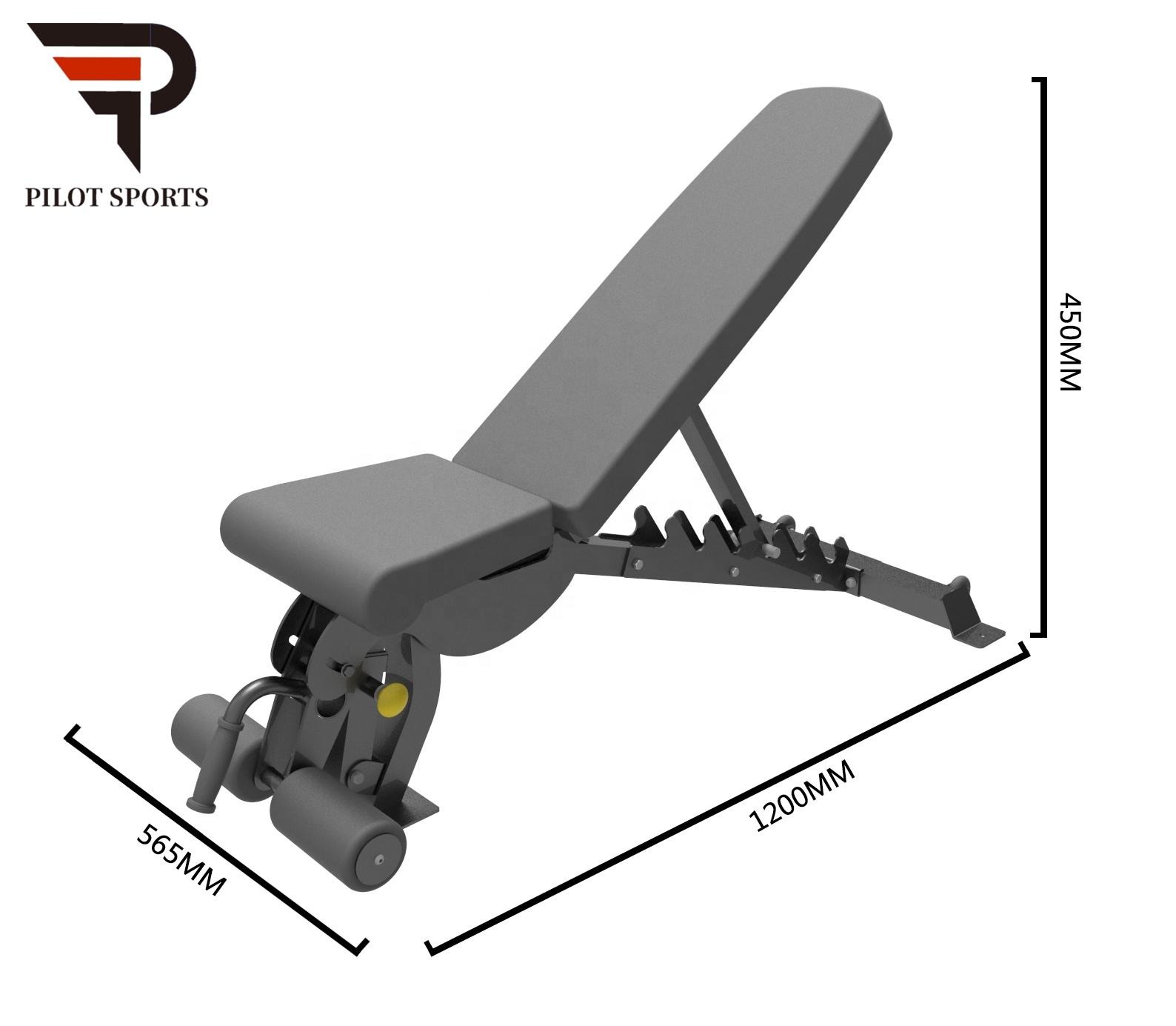 Quality commercial gym equipment Factory Price weightlifting bench Gym Fitness Equipment