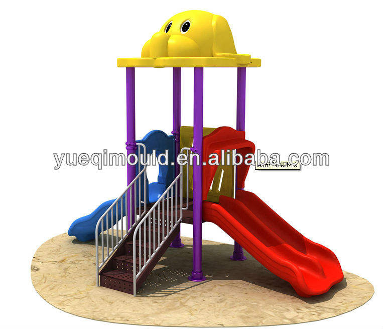 Rotomolding outdoor plastic speeltuin kinderen slides mold