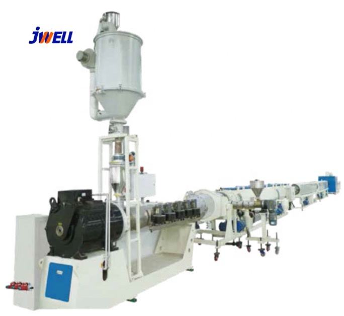 China Jwell Plastic PE/PPR/PP/LLDPE/LDPE/HDPE Tube/Pipe/Hose Making Machine/Extruder/Extrusion Production Line