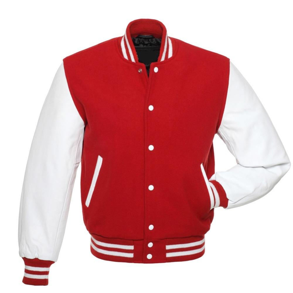 popular custom wholesale plain custom varsity letterman jackets bomber