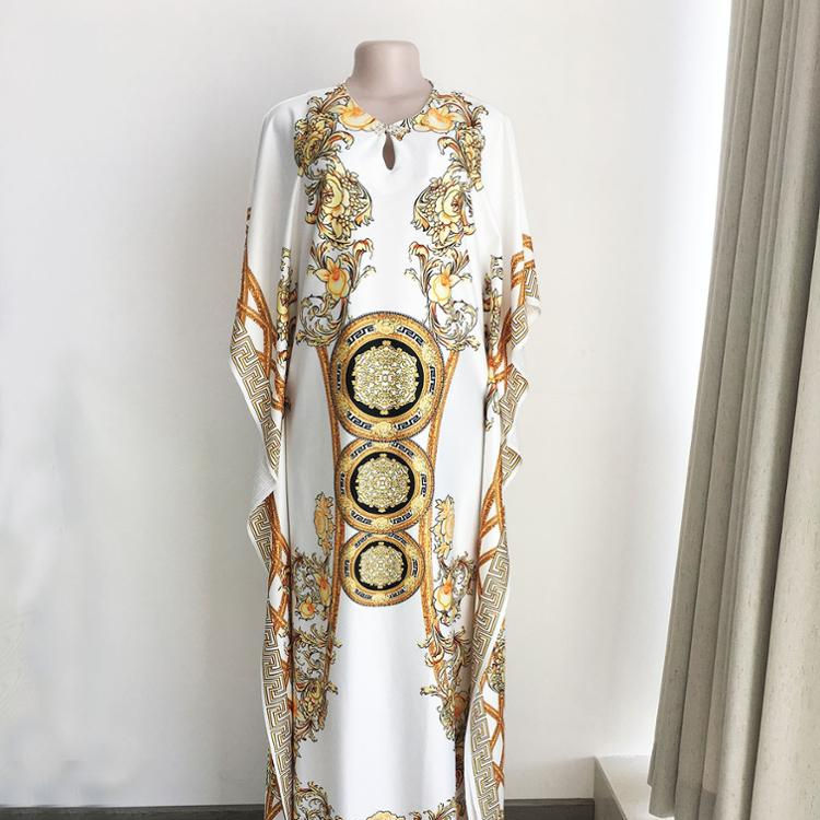 MOQ 1PC fashion rhinestone african clothing women african kitenge dress designs picture