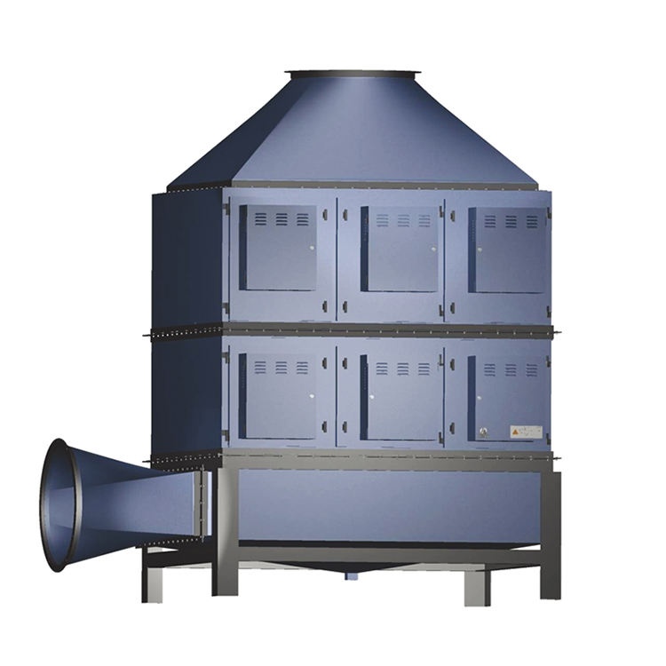 industrial waste gas disposal electrostatic precipitator gas disposer